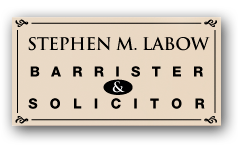 stephen m. labow - barrister and solicitor